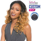 Sensationnel Synthetic Hair Half Wig Instant Weave Custom Fit Emerald