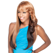 Sensationnel Synthetic Hair Wig Totally Instant Weave Ginger