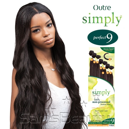 Outre simply non processed brazilian human hair weave perfect 9 outre simply non processed brazilian human hair weave perfect 9 natural drop body 9pcs samsbeauty pmusecretfo Gallery