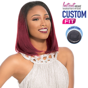 Sensationnel Synthetic Hair Half Wig Instant Weave Custom Fit Olivine