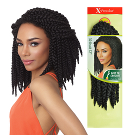 Outre Synthetic Hair Crochet Braids X Pression Braid 12