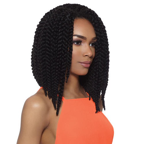 Crochet Braids Outre : Outre Synthetic Hair Crochet Braids X-Pression 3D Braid 12 ...