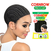 Vivica Fox Cornrow Express Straight Back Cornrow Cap With Combs