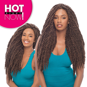Janet Collection Synthetic Hair Braids Havana 2X Mambo Twist Braid 18 24