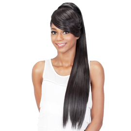 Astonishing Vivica Fox Synthetic Hair Ponytail Two In One Bang Pony Bp Fendy Short Hairstyles Gunalazisus