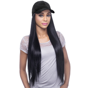 Vivica Fox Synthetic Hair Wig Cap Do Straight 23 With Black Cap