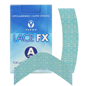 Vapon LACE FXs curve 25 Clear Self Adhesive Strips