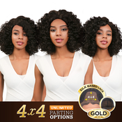 Sensationnel Synthetic Lace Front Wig Empress Edge 4X4 Swiss Silk Based Porsha