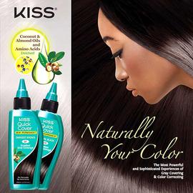 Kiss Quick Cover Semi-Permanent Hair Color - SamsBeauty