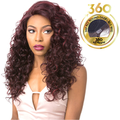 Its A Wig Human Hair Blend 360 All Round Deep Lace Wig 360 Lace Agita