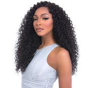 Sensationnel Human Hair Blend Weave Premium Too 3 Multi Bundles Boutique Twist 182022  4 Deep Lace Parting
