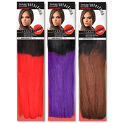 Janet Collection Syntehtic Toyokalon Braids Jumbo Braid 2 Tone Color