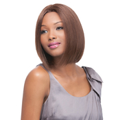 OUTRE Simply NonProcessed Human Hair Lace Front Wig Brazilian Natural Straight Bob