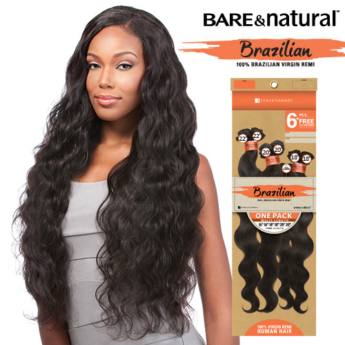 Sensationnel unprocessed brazilian virgin remy human hair weave sensationnel unprocessed brazilian virgin remy human hair weave barenatural natural body 6pcs pmusecretfo Choice Image