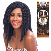 Harlem125 Synthetic Hair Crochet Braids Heart Braid 12