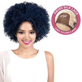 Beshe Human Hair Blend Lace Front Wig Swiss Silk Lace Hhbsl Drew 5