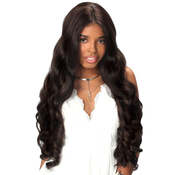 Royal Sis Human Hair Blend Lace Front Wig Pre Tweezed Part PM Lace Lynn