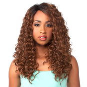 The Wig Brazilian Human Hair Blend Invisible Deep Part Lace Front Wig LHWater