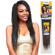 Authentic Synthetic Hair Crochet Braid PreStretched Loop Senegalese Twist Braid 22