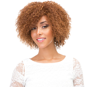 Janet Collection Synthetic Lace Front Wig Natural Super Flow Invisible Deep Part Lace Margaret