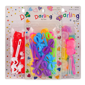 Kids Colorful Plastic Hair Barrettes Hair Clips 28PcsChoose Your Color