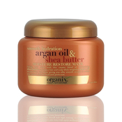 Organix Smooth Hydration Argan Oil AMP; Shea Butter Moisture Restore Mask 8oz
