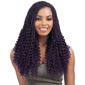 FreeTress Synthetic Hair Crochet Braids PreTwisted Flashy Curl