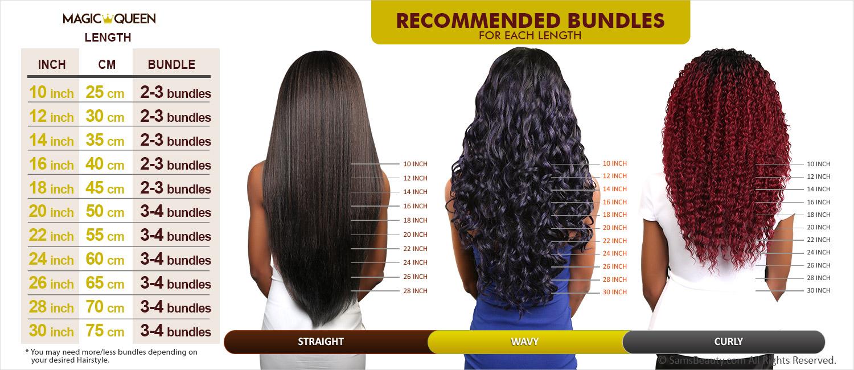 Magic Queen Unprocessed 100 Virgin Human Hair Brazilian Bundle Hair