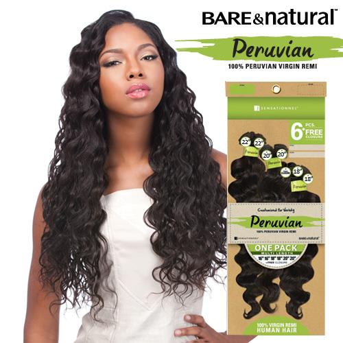 Sensational Sensationnel Unprocessed Peruvian Virgin Remy Human Hair Weave Hairstyles For Women Draintrainus