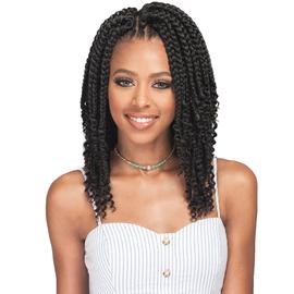 Bobbi Boss Synthetic Hair Crochet Braids Bomba Box Braid Curly Tips