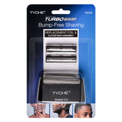 NICKA K New York Tyche Turbo Shaver Replacement Foil AMP; Cutter Bar Assembly