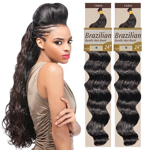 Outre Lace Front Wig Batik Bundle Hair Peruvian Braid Best 2017