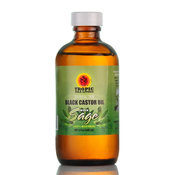 TROPIC ISLE LIVING Jamaican Black Castor Oil with Sage 4oz