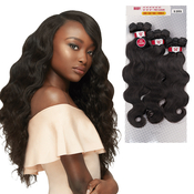 Outre NonProcessed Human Hair Weave 1 Pack Solution Bundle Babe Body