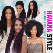 ModelModel Synthetic Hair Braids Double Strand Style Havana Twist Mojito Twist Braid