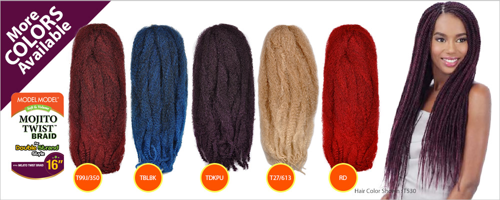 Image result for coloured twist braids