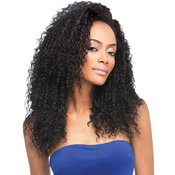 Outre Synthetic Hair Half Wig Quick Weave Bohemian Long