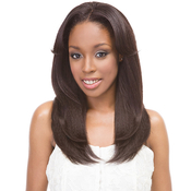 Janet Collection Synthetic Hair Wig Retro GlamAMP;Vibe U Type 1B Straight Wig U Part Wig