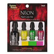 Fantasy Makers Neon 4Pcs Nail Color Kit