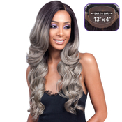 Bobbi Boss Synthetic Lace Front Wig MLF224 13X4 Swiss Lace Keeshana