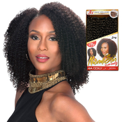 Royal Zury Human Hair Weave Clip On 9Pcs 4A Coily