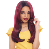 Janet Collection Synthetic Hair Lace Front Wig Two Block Lace Wig Diva