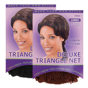 Annie Jumbo Deluxe Triangle Hair Net