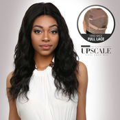 UpScale 100 Virgin Remi Human Hair Hand Made Full Lace Wig Ocean Wave 20