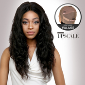 UpScale 100 Virgin Remi Human Hair Hand Made Full Lace Wig Ocean Wave 24