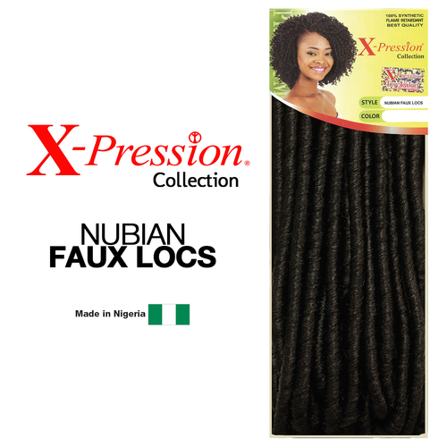 Sensationnel Synthetic Hair Crochet Braids X-Pression Nubian Faux Locs ...