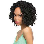 Outre Synthetic Braid Lace Front Wig XPression Locs Bob
