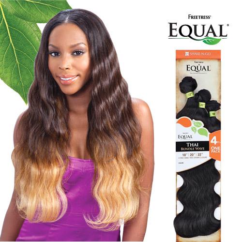 Freetress equal synthetic hair weave thai bundle wave 4pcs hair color shown om2730613 pmusecretfo Choice Image