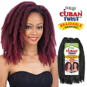 FreeTress Equal Synthetic Hair Weave Cuban Twist Weave