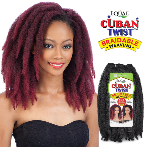 Freetress Equal Synthetic Hair Weave Cuban Twist